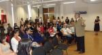 Asistentes a la conferencia<br /> El Poder del Factor Humano y el SMS<br /> En la Universidad Vasco de Quiroga<br /> Morelia, MÉXICO, Mayo 21 del 2012